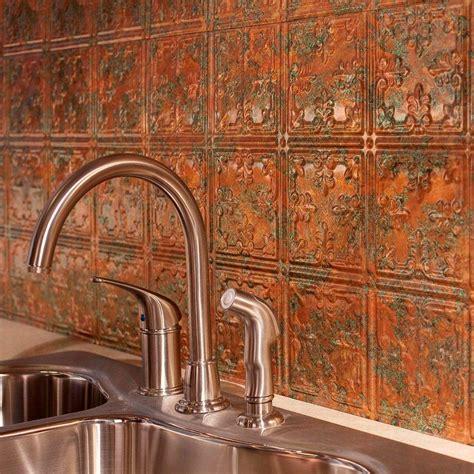 fasade      traditional  pvc decorative backsplash panel  copper fantasy