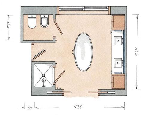 Modern Bathroom Plans by Personalized Modern Bathroom Design Created By Ergonomic