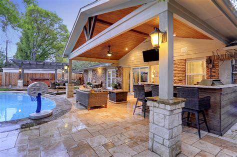 outdoor livingroom 2018 gable roofs houston dallas katy custom patios