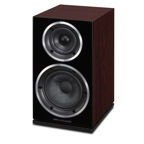 wharfedale 220 rosewood quilted bookshelf speakers