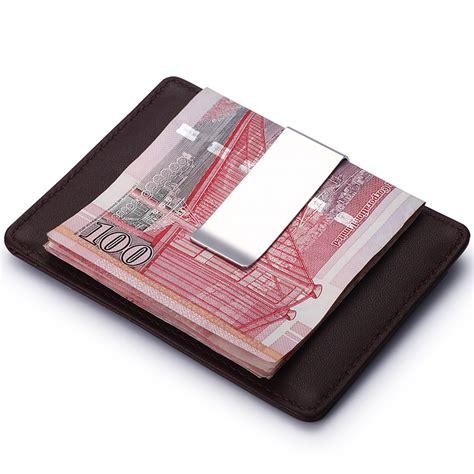 new year money wallets modern brand new 2016 genuine leather money clip wallets