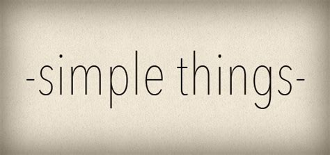 8 Simple Things Want by Simple Things 8 Ukzambians
