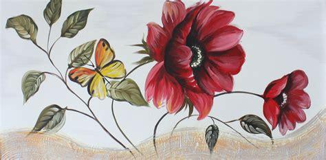 pittura fiori quadri moderni fiori dipinti a mano olio su tela