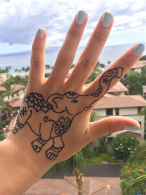 henna tattoos tumblr elephant henna