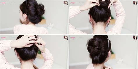 foto tutorial rambut simple body and mind tutorial rambut cepol korea yang lagi