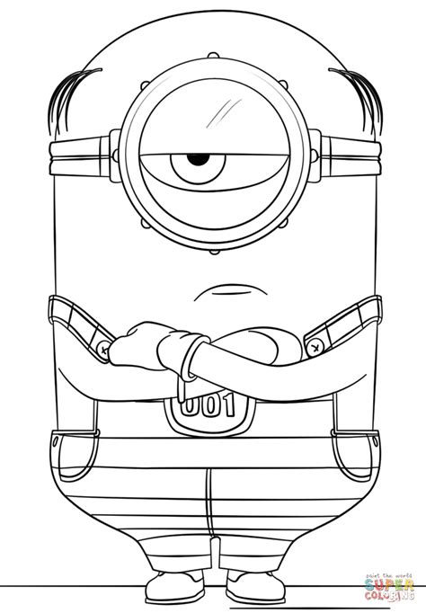 minions coloring pages of phil awesome minions coloring pages minions coloring pages of