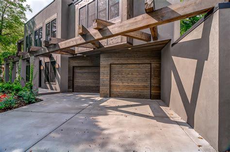 Cedar Clad Garage Doors by Cedar Clad Garage Doors