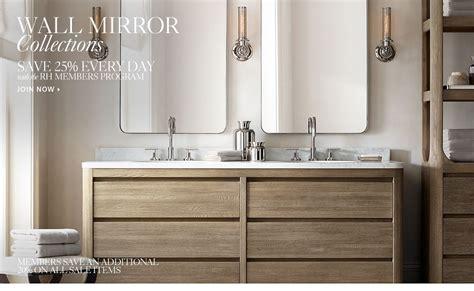 Restoration Hardware Bathroom Mirror Wall Mirrors Rh