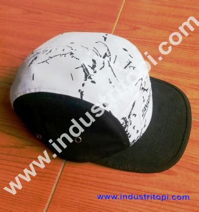 Topi 5 Panel Five produsen topi five panel konveksi topi