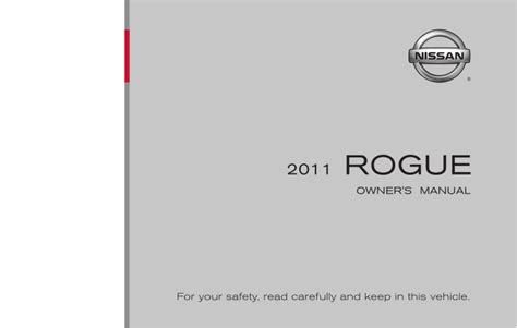 old car owners manuals 2011 nissan rogue parking system 2011 rogue owner s manual