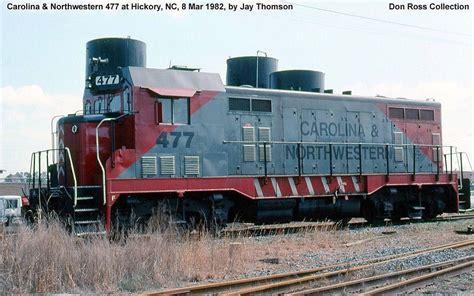 carolina northwestern rr northwestern southern railways train