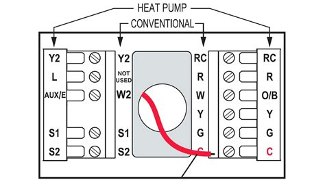 beautiful two stage thermostat wiring diagram ideas