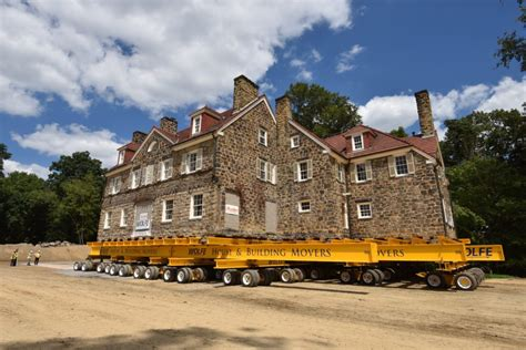 house movers missouri walker mansion relocation edgeworth pa wolfe house building movers
