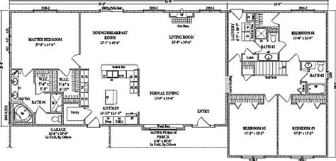 best of basic ranch style house plans new home plans design fairview by wardcraft homes ranch floorplan