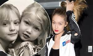 gigi hadid posts throwback snap of mother yolanda foster gigi hadid posts throwback snap from a young age on
