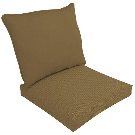 Hampton Bay Chili Stitch Ogee 2 Piece Deep Seating Outdoor