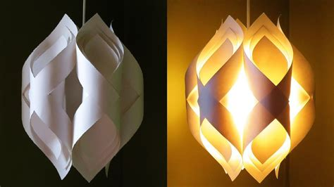 How To Make A Paper Light - ogee paper l how to diy an paper pendant l