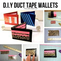 printable directions for a duct tape wallet duct tape wallets on pinterest duct tape wallets duct