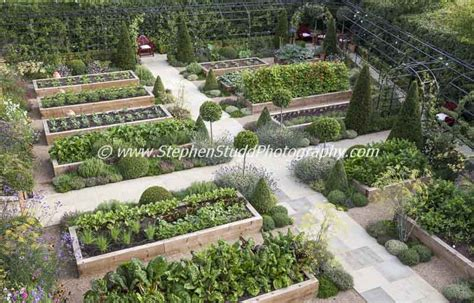kitchen gardens design stephen studd garden photographer s association