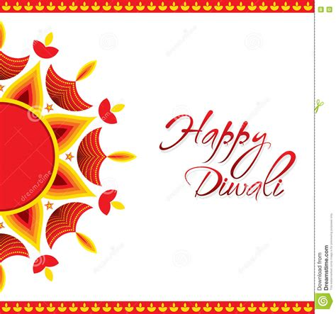 diwali greeting card template happy diwali greeting card design stock vector image