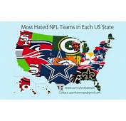 Football Map Nfl Teams Usa  Chainimage