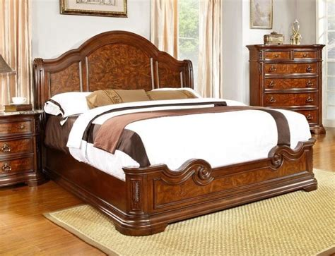 Cherry Wood King Size Bedroom Sets by Bedroom Furniture Cherry King Size Bed Royal Palace Formal