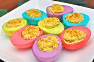 colored deviled eggs colorful deviled eggs recipe paiges