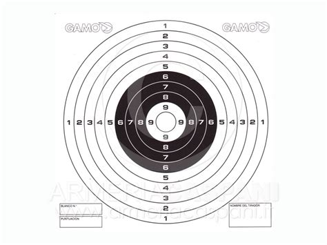 armeria bersaglio mobile catalogo armi compressa bersagli bersaglio cartoncino