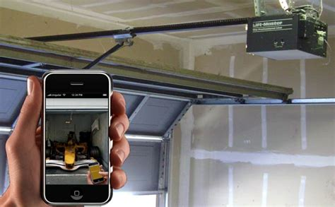 Garage Door From Iphone Turn Your Iphone Into A Garage Door Opener