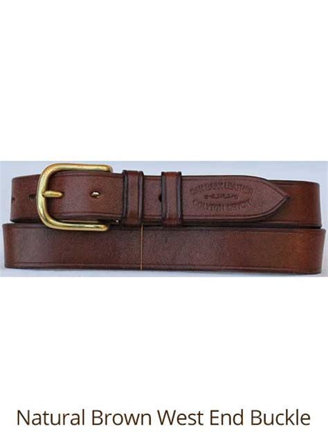 Handmade Belts Uk - 1 188 quot bridle handmade leather belt quality oak bark