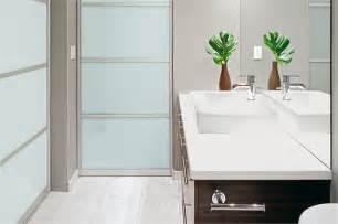 Bathroom doors with frosted glass door styles