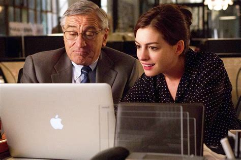 The Intern de niro and hathaway should be fired for the intern