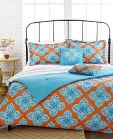 orange and blue bedding beach comforter sets queen foter