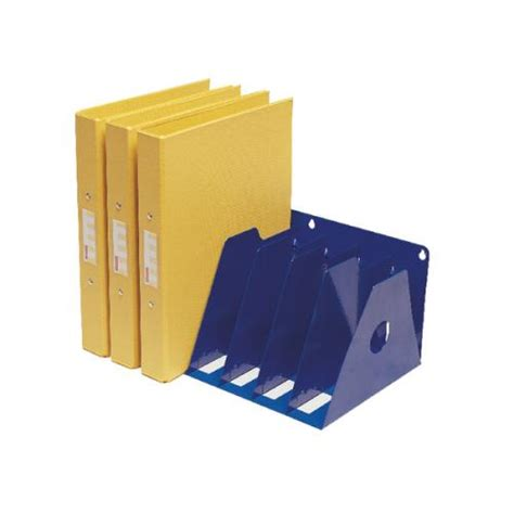 Binder Storage Rack by Rotadex 7 Section A4 Ring Binder Rack Blue A4r 7 A4r 7