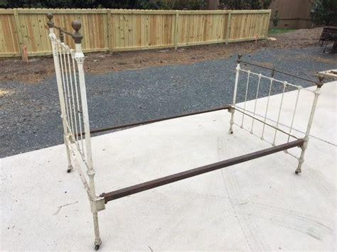 antique bed rails antique iron bed rails for sale classifieds