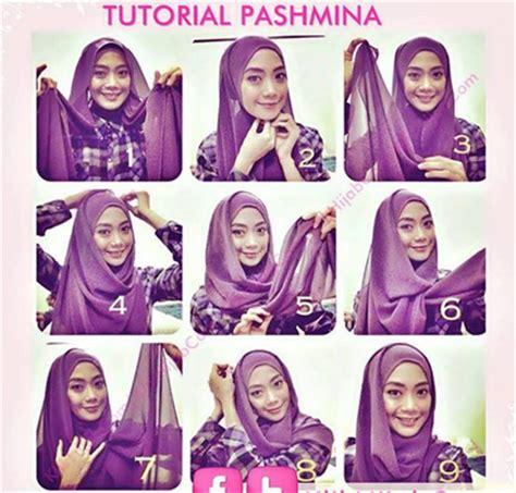 tutorial gambar hijab terbaru video tutorial cara memakai hijab modern terbaru
