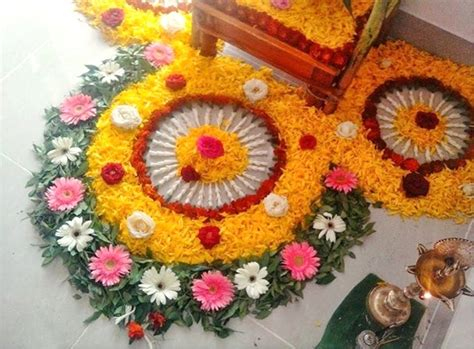 flower pattern rangoli design latest flower rangoli designs 2018 that will steal your