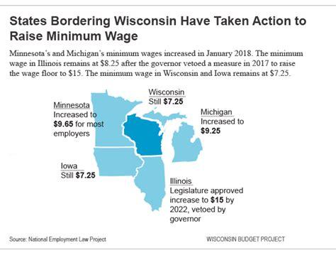 minimum wage for 18 wisconsin budget 18 states raise minimum wage 187