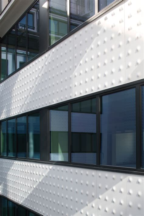 corian fliesen interpretation einer d 233 co fassade mit corian detail