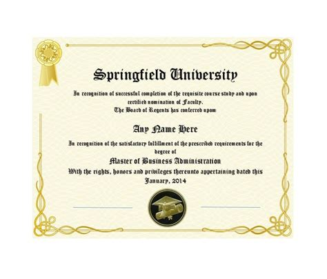 degrees templates 30 real diploma templates high school college