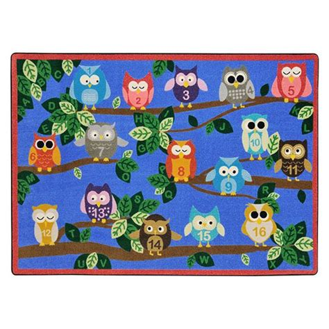 owl rug for classroom bulletin boards rugs and owl on