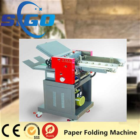 Paper Folding Machine Singapore - sg zy380 industrial automatic high speed cross folder