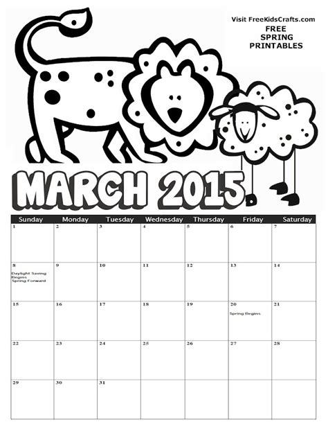 coloring template search results calendar 2015 search results for march coloring calendar page 2
