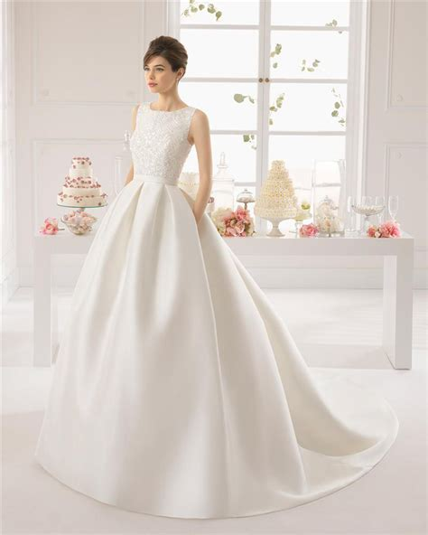 Brautkleider Satin by 2016 Vintage Backless Satin Wedding Dresses