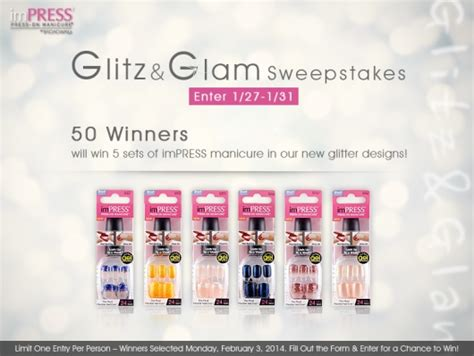 Broadway Sweepstakes - broadway nails glitz glam sweepstakes 50 winners 187 this momma loves her freebies