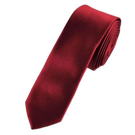 Plain Maroon 1 plain maroon tie from ties planet uk