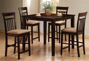 High Kitchen Table Set Counter High Dining Set Home And Interior Design