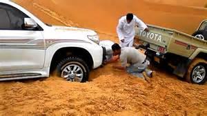 Desert Toyota Toyota Land Cruiser Stuck In Desert Sand