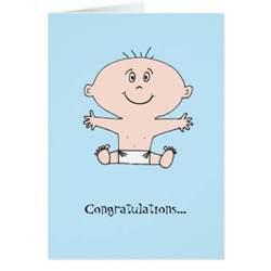 congratulations baby boy greeting card zazzle