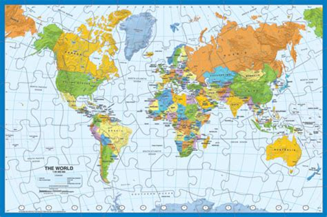 printable map puzzle of world puzzle world photo